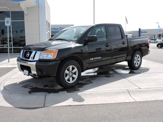 Pre Owned 2009 Nissan Titan Se 4d Crew Cab In Billings